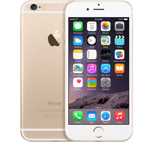 IPhone 6S+ 128Gb gold