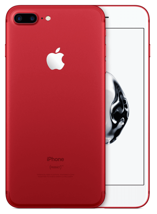 iPhone 7+ 256 gb red