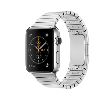 Apple Watch 2 38mm Stainless Steel Case with Link Bracelet
