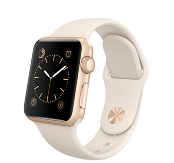 Часы Apple Watch Sport 38 mm Gold with Sport Band Antique White