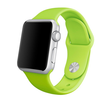 Apple Watch Sport 38 mm with Sport Band Green,blue,orange, pink