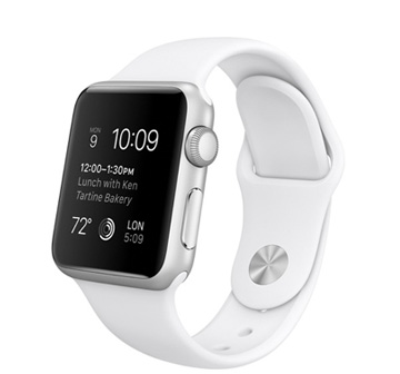 Apple Watch Sport 42 mm with Sport Band White