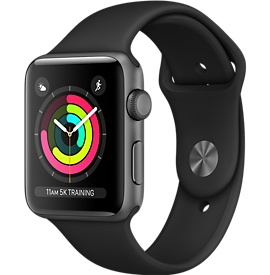 Apple Watch Series 3 38мм серый космос