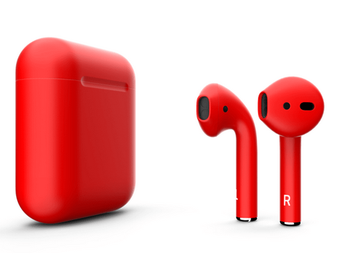 Airpods bluetoth matter red