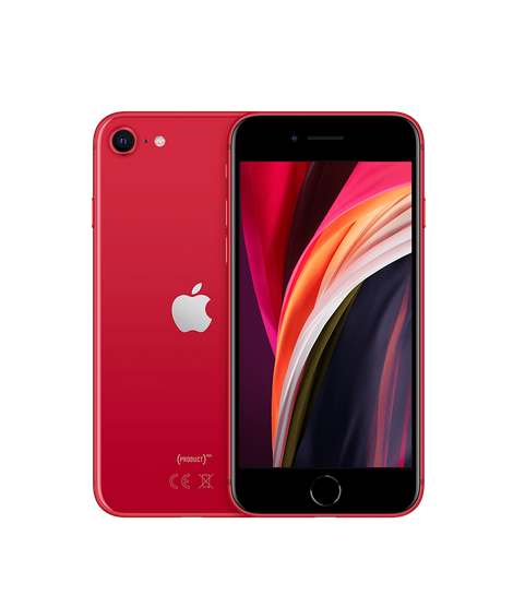 iPhone SE 128 Gb red