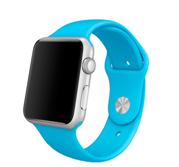 Apple Watch Sport 42 mm with Sport Band blue,green, orange, pink