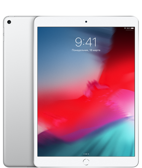 iPad Air 64GB Серебристый Wi-Fi