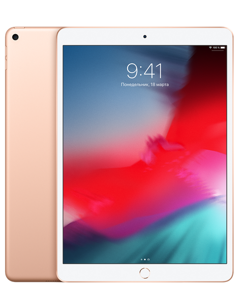 iPad Air 64GB Золотой Wi-Fi + Cellular