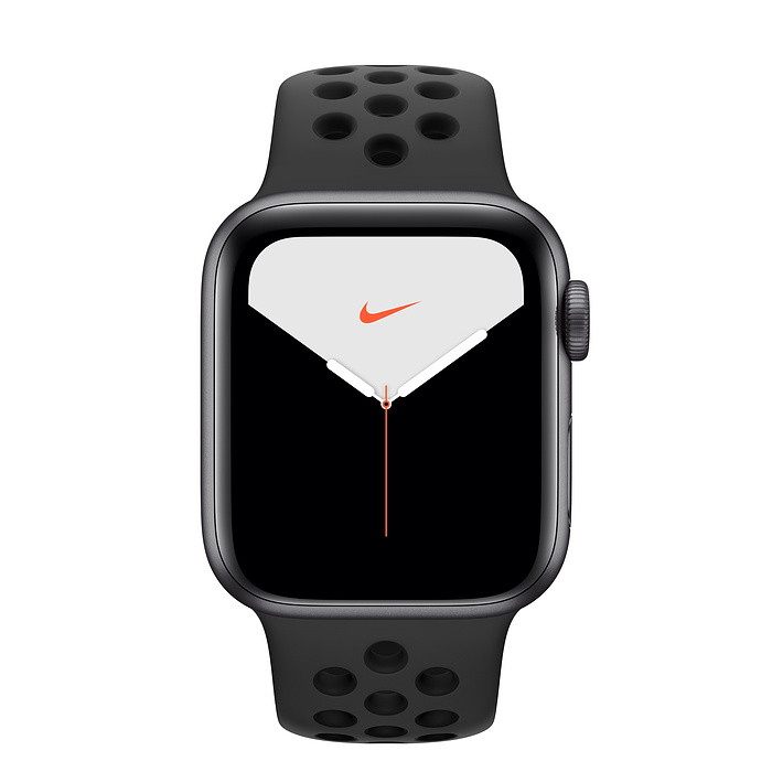 Apple Watch Series 5 40мм Space Gray Aluminum Case with Nike Sport Band